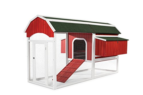 Prevue Pet Products 466 Barn Chicken Coop, Large, Red (Chicken House Kit compare prices)