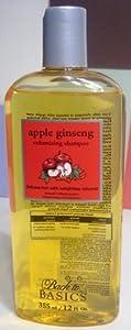 Back to Basics ORIGINAL Apple Ginseng Volumizing Shampoo 12 oz
