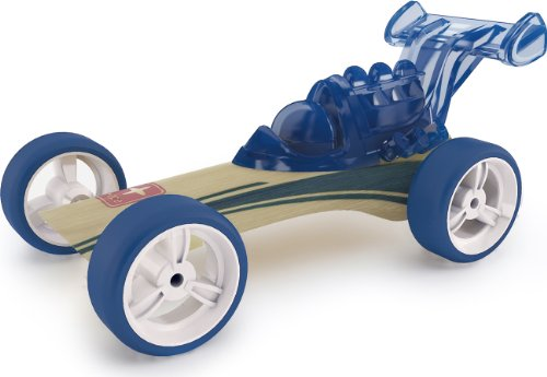Hape Bamboo Mighty Mini Dragster Toy Car