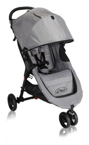 Baby Jogger City Micro Stroller - Black/Gray front-1016256