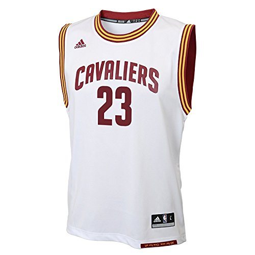 LeBron James Cleveland Cavaliers #23 NBA Youth Home Jersey White (Youth Medium 10/12) (All Lebron James Shoes compare prices)