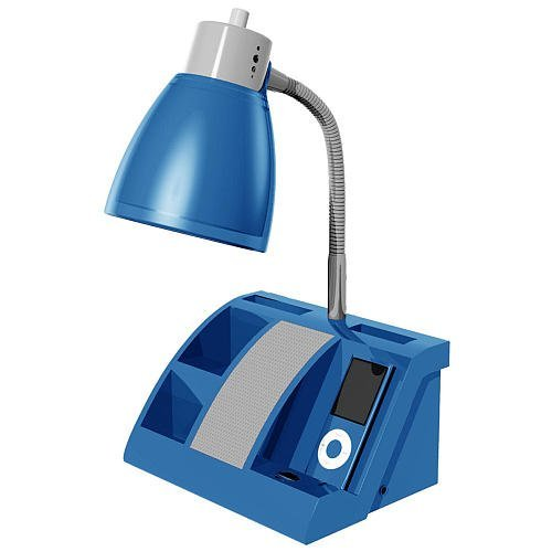 And Also Read Review Customer Opinions Just Before Buy IHome IHL24 Blue  Colortunes Desk Organizer Speaker Lamp With IPod Player Compartment Blue.