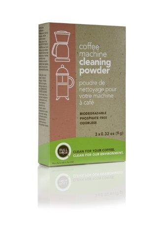 Urnex Full Circle Coffee Machine Cleaning Powder, Biodegradable, White