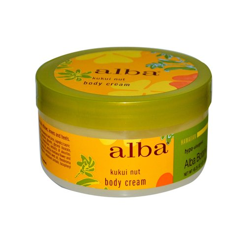 Alba Botanica Hawaiian Body Cream Kukui Nut - 6.5 oz Alba Botanica Hawaiian Body
