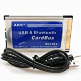 "AKE PCMCIA USB + Bluetooth-Cardbus (1-facher USB 2.0 Anschluss + Bluetooth Dongle)von ""Enjoyyourcamera"""