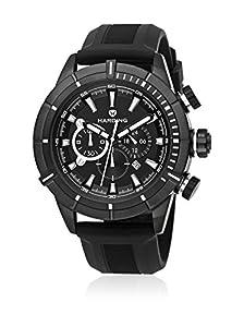 Reloj Harding HA0201 Aquapro - Acero, correa de caucho color negro