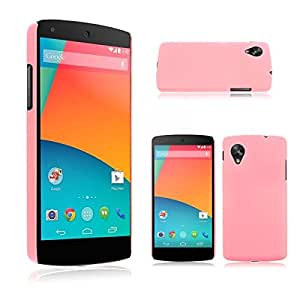 Hard Back Shell Cover Case For NEW LG Google Nexus 5 Color Pink