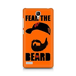 Ebby Fear the Beard Bud Premium Printed Case For Xiaomi Redmi Note
