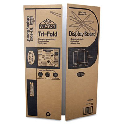 tri fold board. Elmer#39;s Tri-Fold Corrugated