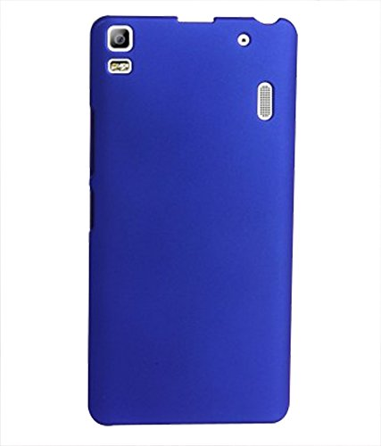 Rubberised Hard Back Cover Made For Lenevo A 7000/k3 Note-Royal Blue