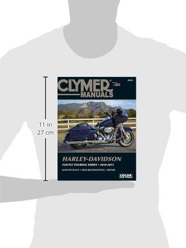 Harley-Davidson Flh/Flt Touring Series 2010-2013 (Clymer Motorcycle Repair)