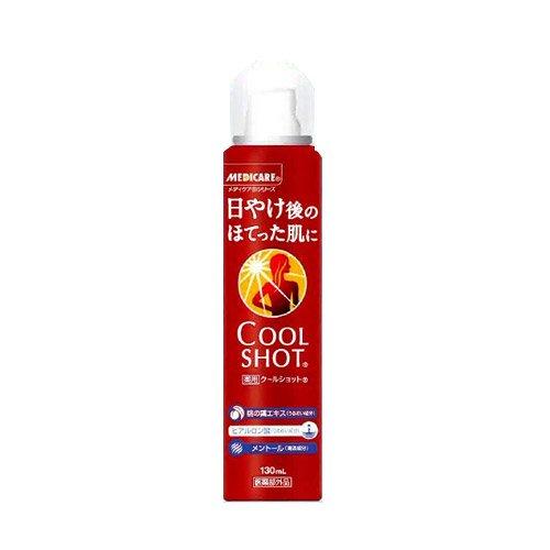 森下仁丹 メディケア クールショット 130ml