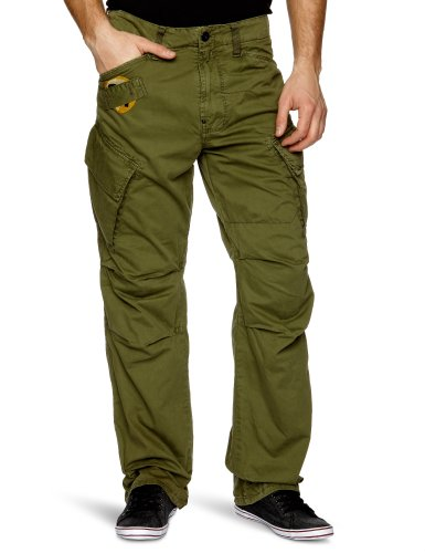G-star Raw Aero Art Rovic Loose Men's Cargo Trousers Sage W28INxL32IN