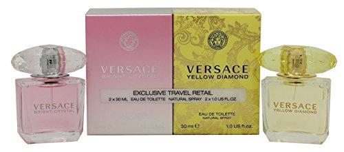 Versace Confezione Regalo 30ml Yellow Diamond EDT + 30ml Bright Crystal EDT