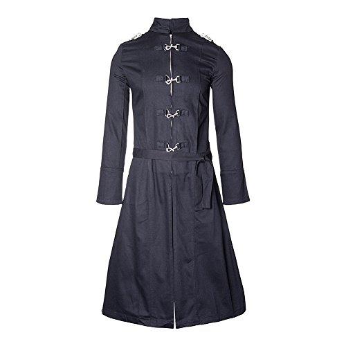 Blacklist-Unisex-Adults-Streetwear-Hook-Trench-Coat