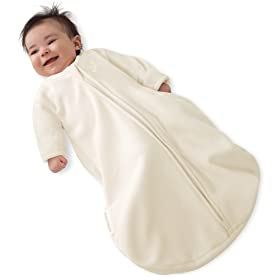 Kiddopotamus Dreamsie Sleeper with Sleeves Microfleece Small