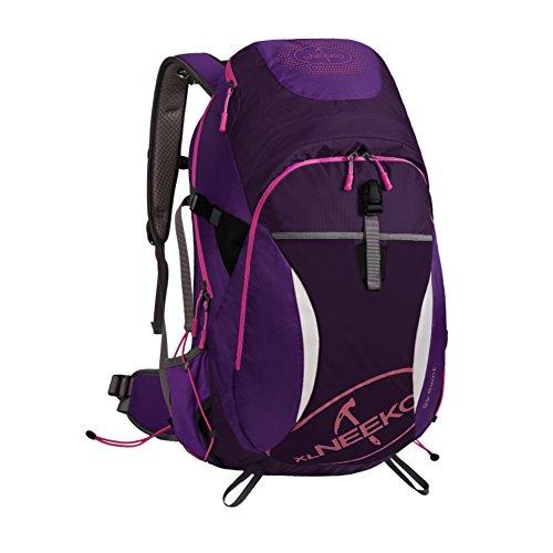 Alpinisme sac / grande capacité / sac de randonnée imperméable à l'eau en plein air sac à dos Voyage-violet 40L