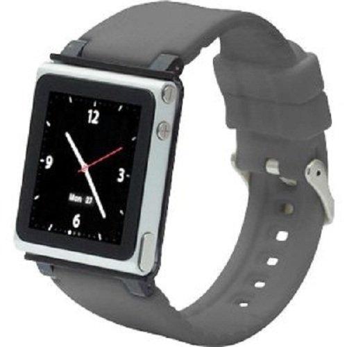 iWatchz CLRCHR22GRY Q Collection Wrist Strap for iPod Nano 6G