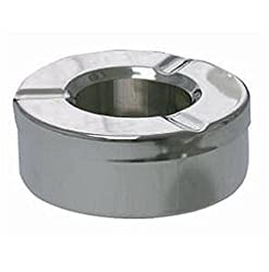 hpk eco stainless steel mini ashtray with onable lid