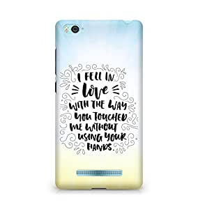 Amez I fell in Love with You Back Cover For Xiaomi Mi4i