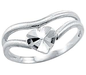 14k white gold beautiful thumb ring