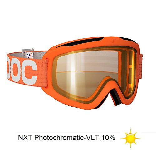 POC Iris X NXT Photo Goggles (Orange, Medium)