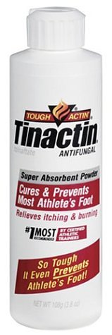 Tinactin Super Absorbent Antifungal Powder, 3.8-Ounce Bottles (Pack of 3)