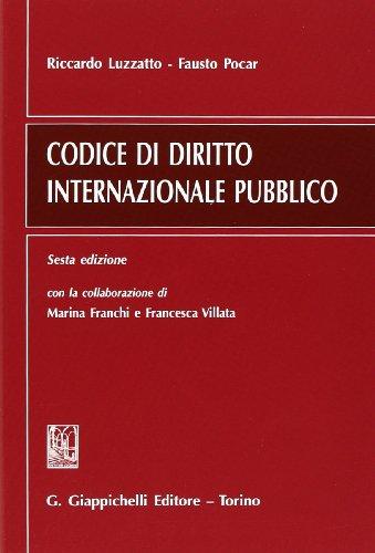 Codice di diritto internazionale pubblico PDF
