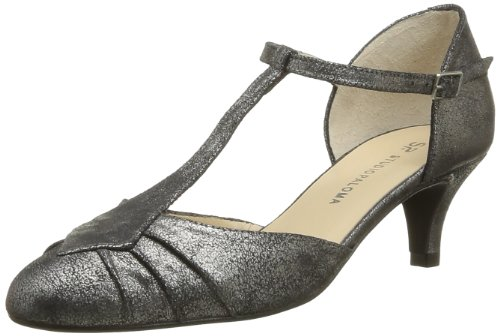 Studio Paloma Women's Berberia Court Shoes Black Noir (Puf 1460) 6.5 (40 EU)
