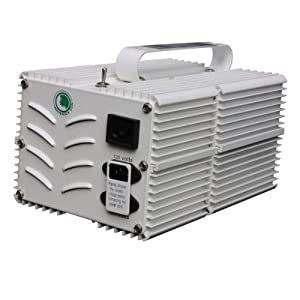 Maverick Sun Aluminum B-AL-1000w-Convertible 1,000 Watt Grow Light Ballast MH/HPS
