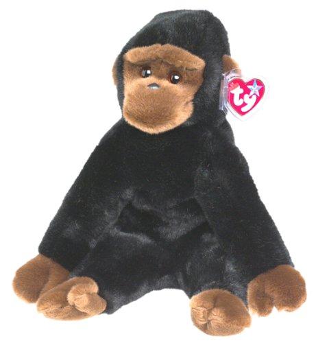 TY Beanie Buddy - CONGO the Gorilla - 1