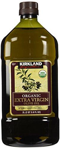 Kirkland Signature Organic Extra Virgin Olive Oil, 2 Liters