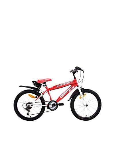 SCHIANO Bicicleta 20 Hornet 06V Rojo