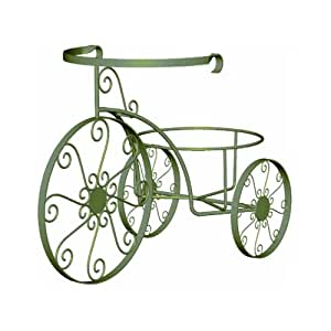 Panacea products whimsical tricycle plant for 70 bike decoration