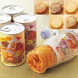 〈アキモト〉パンの缶詰  5種類・各3缶 計15缶セット
