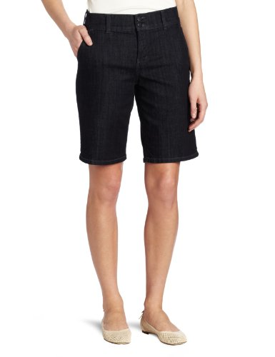Not Your Daughter's Jeans Women's Ivette Denim Short, Dark Enzyme, 6