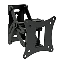 Mount-It! New Swivel Full Motion Articulating Universal VESA 75x75 100x100 Compatible TV Wall Mount Bracket for Toshiba TVs