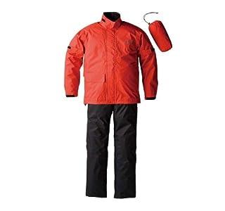 ゴールドウイン:コンパクトレインスーツ GWS Gベクター2 コンパクト 防水透湿 / カラー:イタリアンレッド / サイズ:L