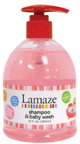 Lamaze Baby Shampoo & Body Wash 16 oz - Fresh Strawberry Scent - 1