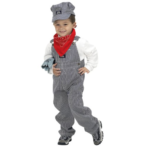 Aeromax Jr. Train Engineer Suit with cap and accessories