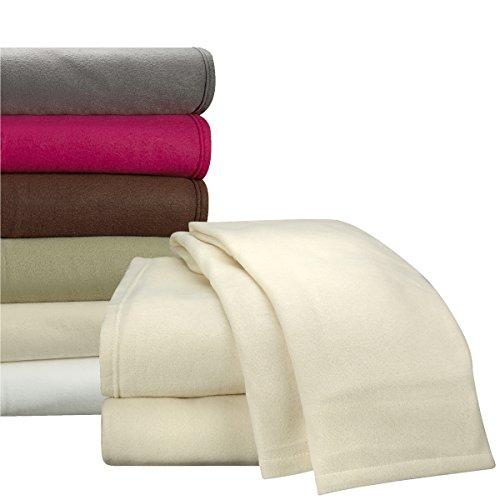 Clara Clark Micro Polar Fleece Bed