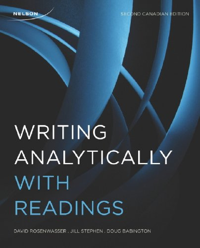 Writing Analytically: Chapter 2 Summary