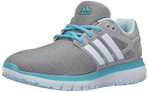 adidas Performance Women's Energy Cloud Wtc W Running Shoe, Mgh Solid Grey/White/Vapour Blue Fabric, 7 M US
