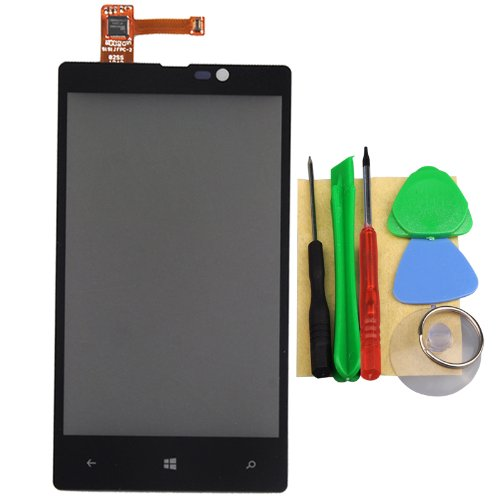 Black Touch Screen Digitizer For Nokia Lumia 820 +Tools Replacemet Repair Parts