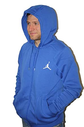 Mens Nike Air Jordan 23 7 Full Zip Hooded Sweatshirt by Jordan