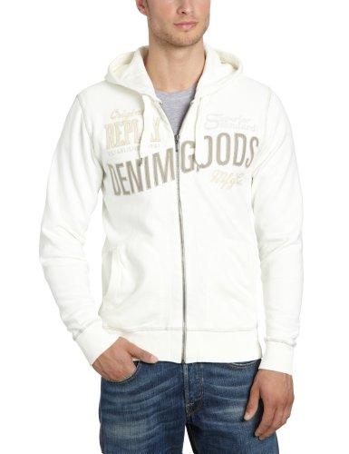 Replay Men's M3182 .000.20770 Sweatshirt White (Wool White 419) 54