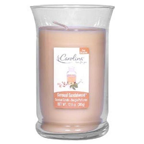 Amazon.com: Carolina Jar Candles, Sensual Sandalwood Scent (Pack of 2)