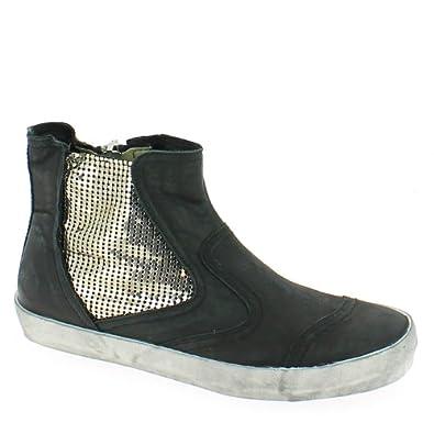 crime damen sneakers schwarz 36 schuhe handtaschen. Black Bedroom Furniture Sets. Home Design Ideas