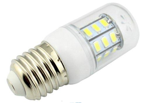 E27 Brightness 5 Watt Led Light Bulb Energy Efficient Lamp 300Lm Cool White 5000K 360° Omni-Directional Light