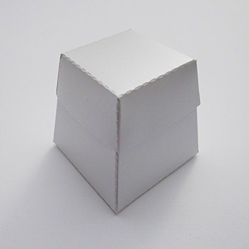 Cheap 80 X White Pearlescent Shamford Wedding Favour Boxes Buy